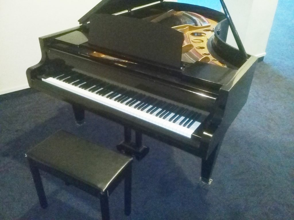 1930s Bösendorfer grand piano gifted by Rotorua Lakes Council to John Paul College